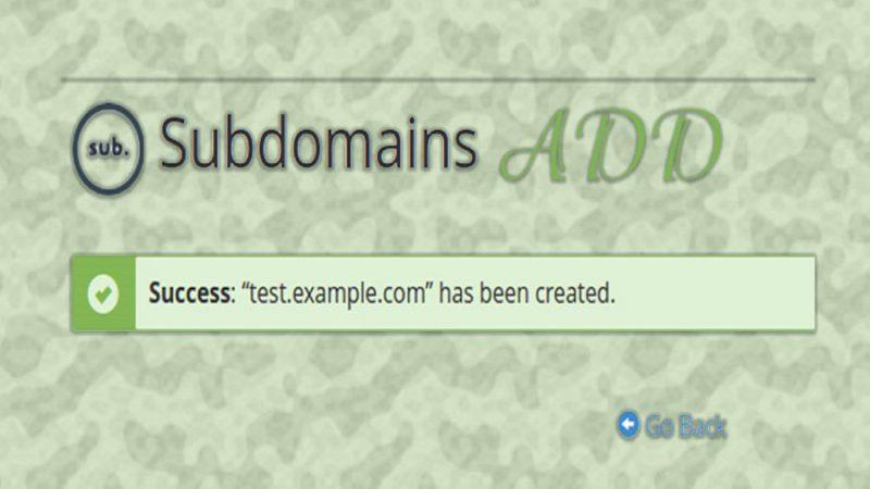 اضافه کردن SUB DNS در cPanel