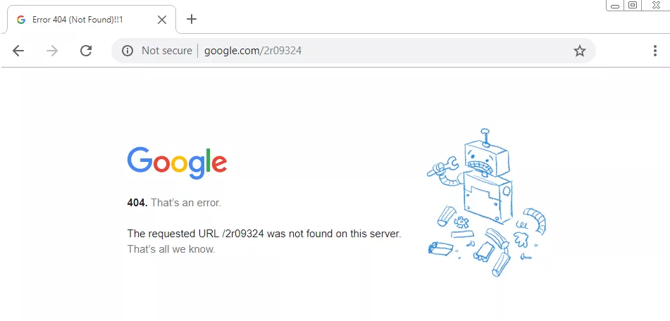 رفع خطا 404