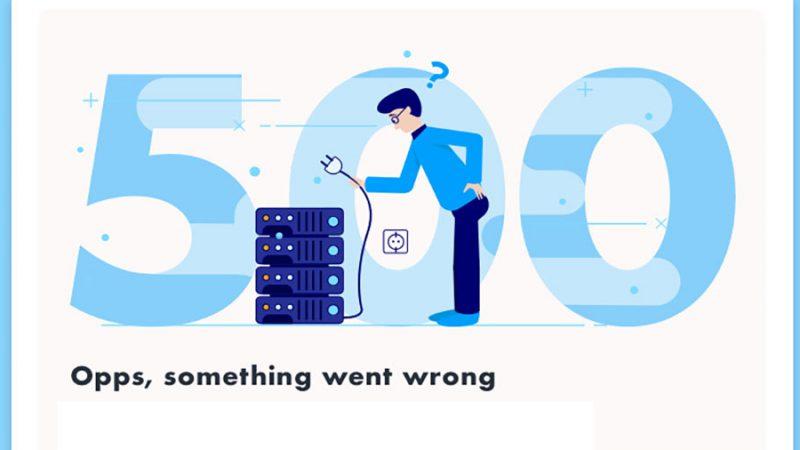خطای 500 چیست