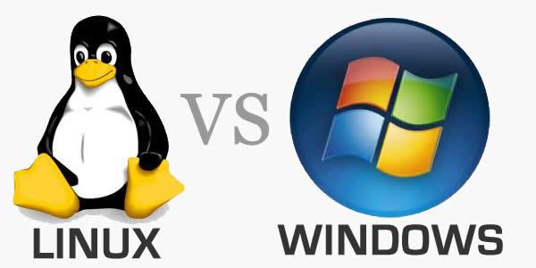 تفاوت سرور لینوکس و ویندوز