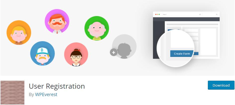 بهترین افزونه وردپرس User Registration