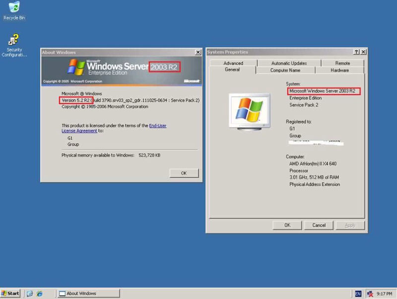 تکامل محیط ویندوز سرور در نسخه 2003r2
