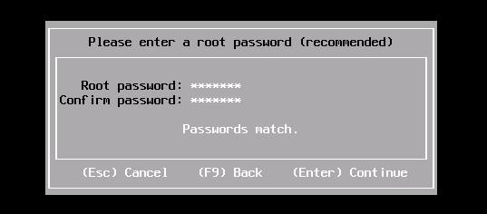 تعیین رمز عبور