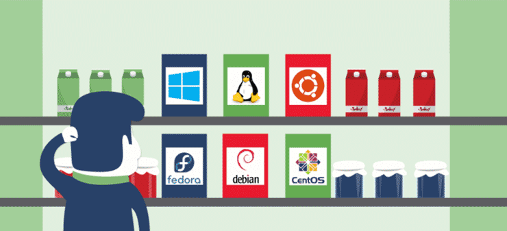 سرور مجازی ویندوزی و لینوکسی
