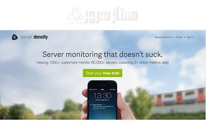 ابزارمانیتورینگ Server Density