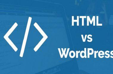 """""""وردپرس یا HTML"""
