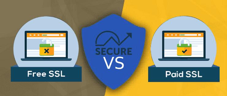 تفاوت SSL رایگان و پولی