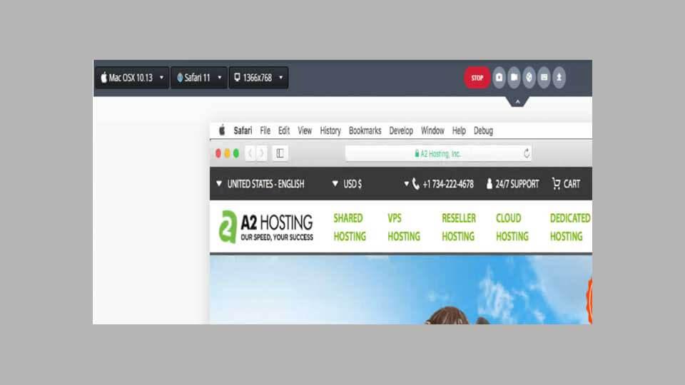 بررسی نمایش وب سایت