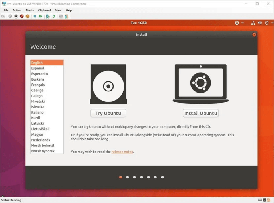 مراحل نصب آباندون لینوکس