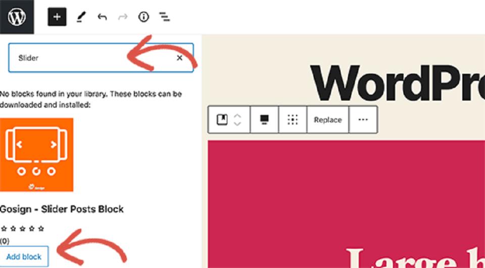 وردپرس 5.5 : فهرست بلاک های جدید