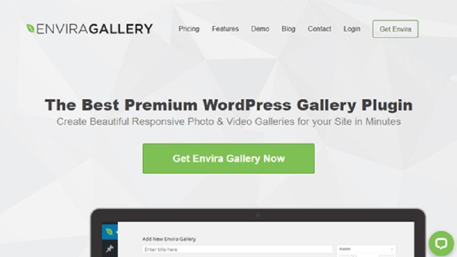 7 مورد از بهترین افزونه های اینستاگرام در وردپرس : Envira Gallery