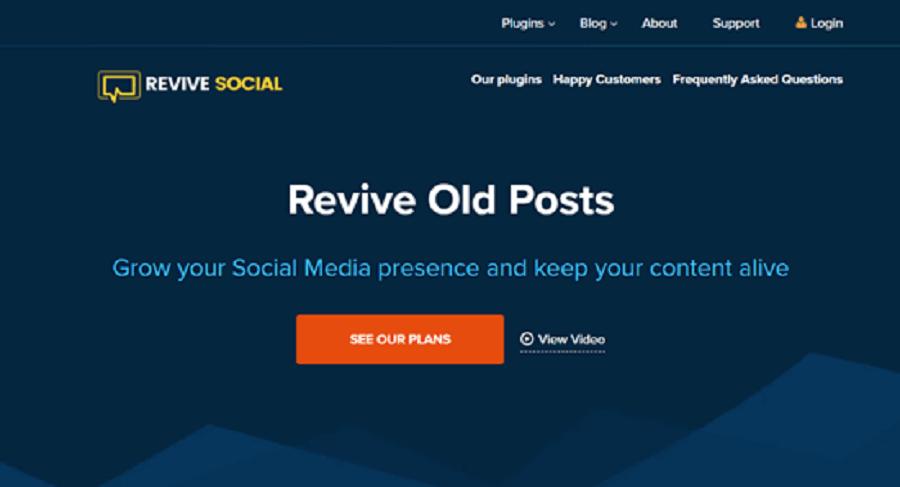 7 مورد از بهترین افزونه های اینستاگرام در وردپرس : Revive Old Posts