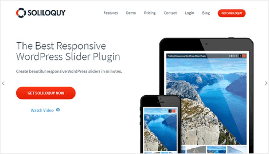 7 مورد از بهترین افزونه های اینستاگرام در وردپرس : Soliloquy
