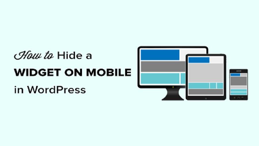 مخفی کردن ابزارک وردپرس در موبایل (آسان برای مبتدیان)