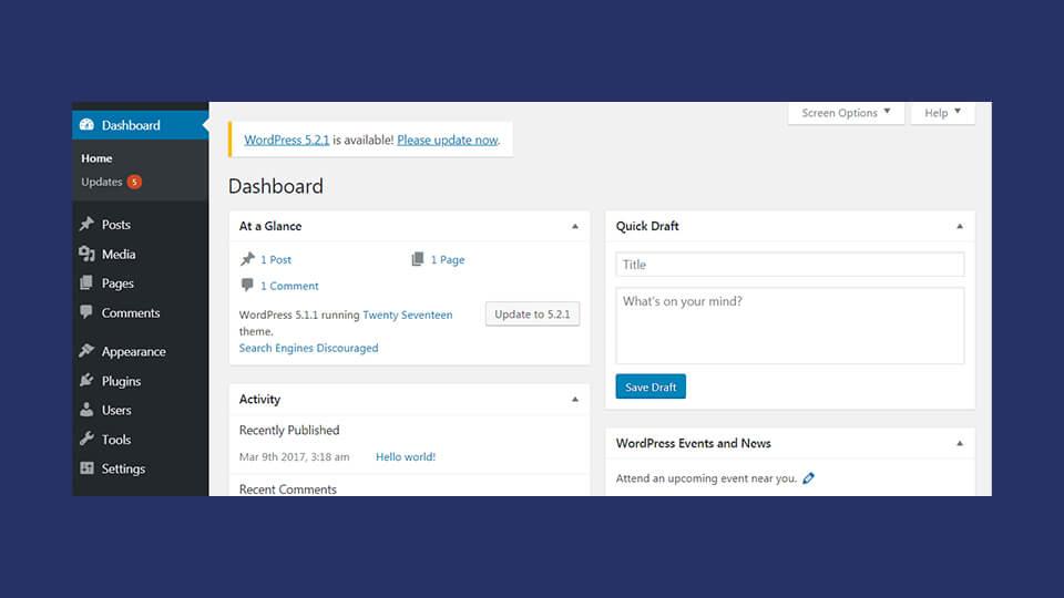 اعلان به روزرسانی وردپرس برای حفظ عملکرد سایت وردپرس