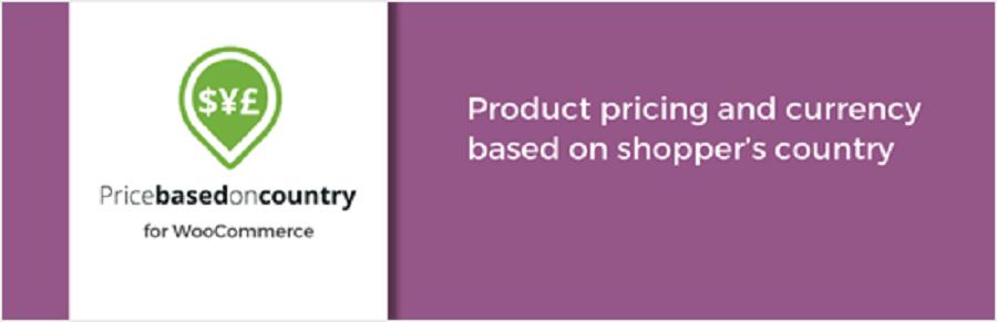 قیمت WooCommerce بر اساس کشور