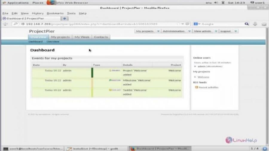 5 از بهترین سیستم عامل های مدیریت پروژه : ProjectPier