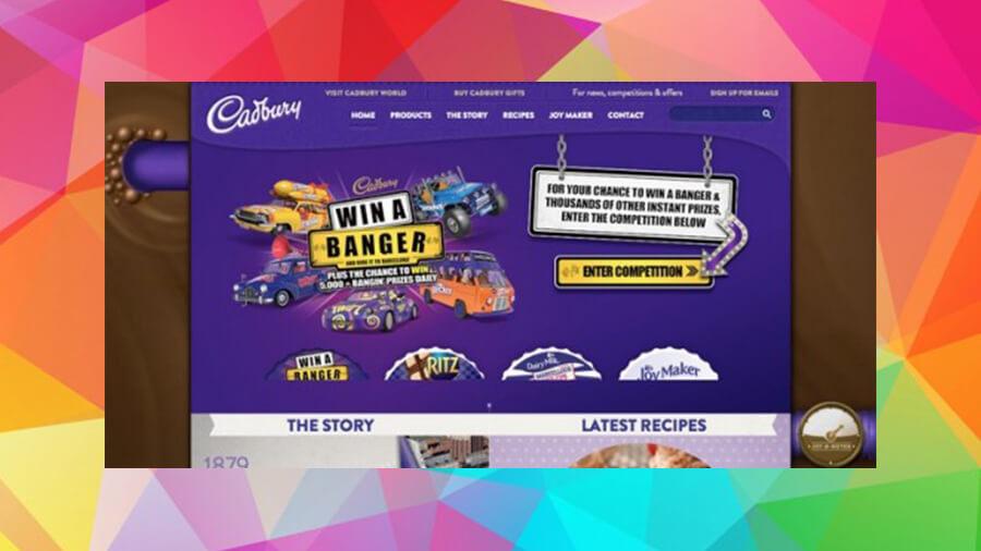 وب سایت Cadbury Purple