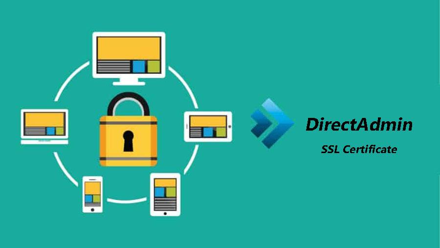 گواهینامه SSL در DirectAdmin