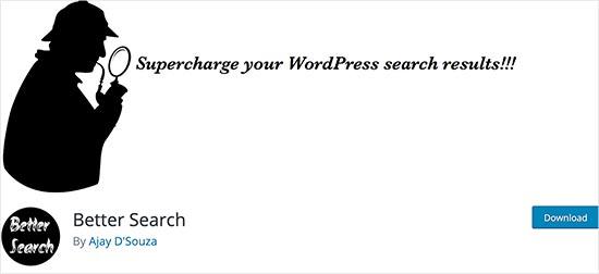 Better Search پلاگین جستجوی وردپرس