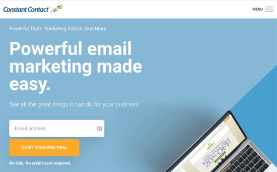 Constant Contact سرویس بازاریابی ایمیلی
