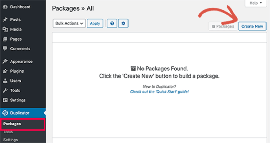 انتقال سایت وردپرسی به لوکال هاست توسط پلاگین duplicator