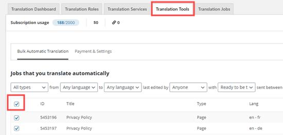 انتخاب همه برای ترجمه