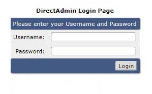 ورود به حساب کاربری دایرکت ادمین