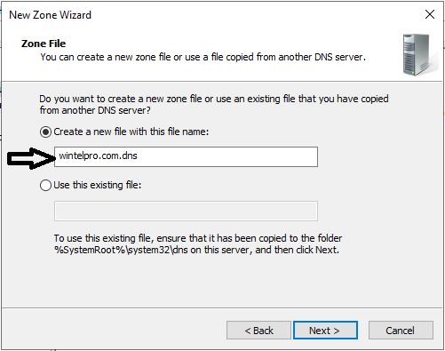 نصب DNS Server