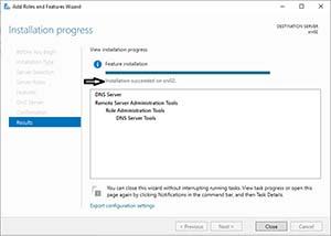 نصب DNS Servert در ویندوز سرور
