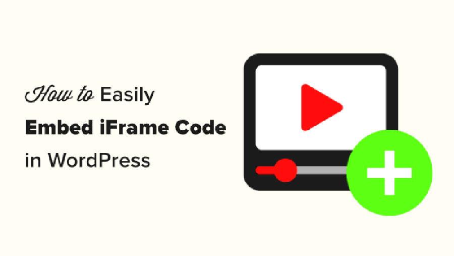 جاسازی کد iFrame در وردپرس