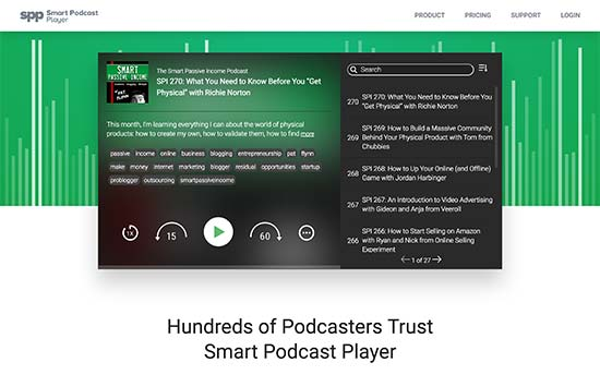 2. Smart Podcast Player