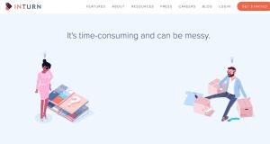 نمونه استفاده از انیمیشن در وبسایت