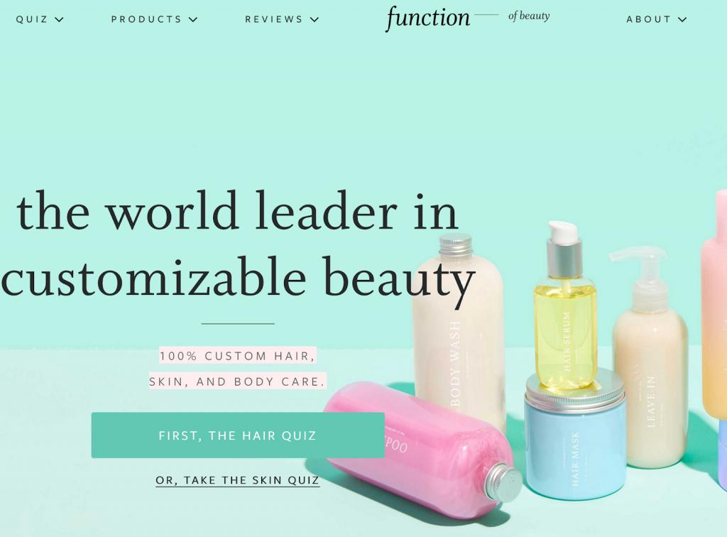 نمونه ای از شخصی سازی در طراحی وب