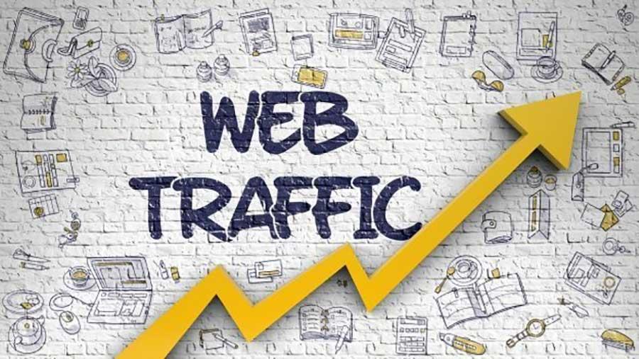 ترافیک بالای وب
