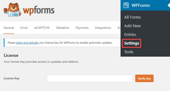 دسترسی به داده های مکان جغرافیایی با WPForms