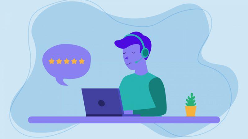 خدمات مشتری شبکه اجتماعی