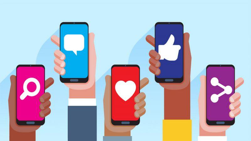 افزودن آیکون شبکه اجتماعی