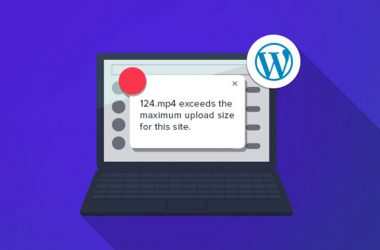 افزایش سایز آپلود فایل وردپرس