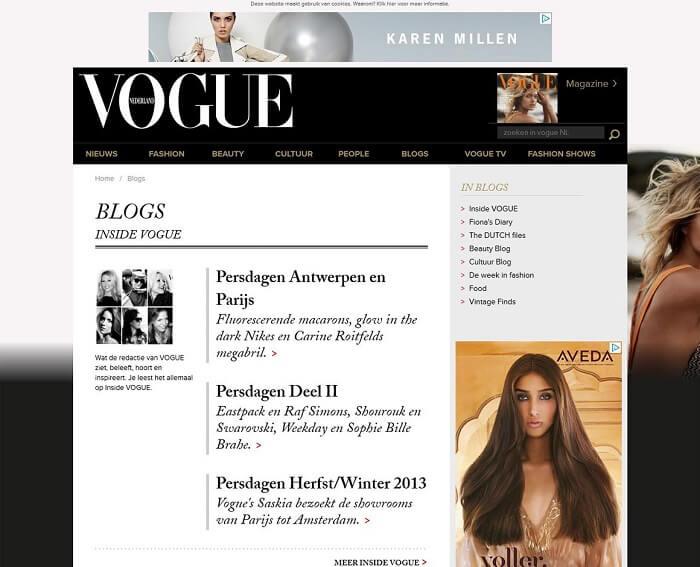 سایت Vogue