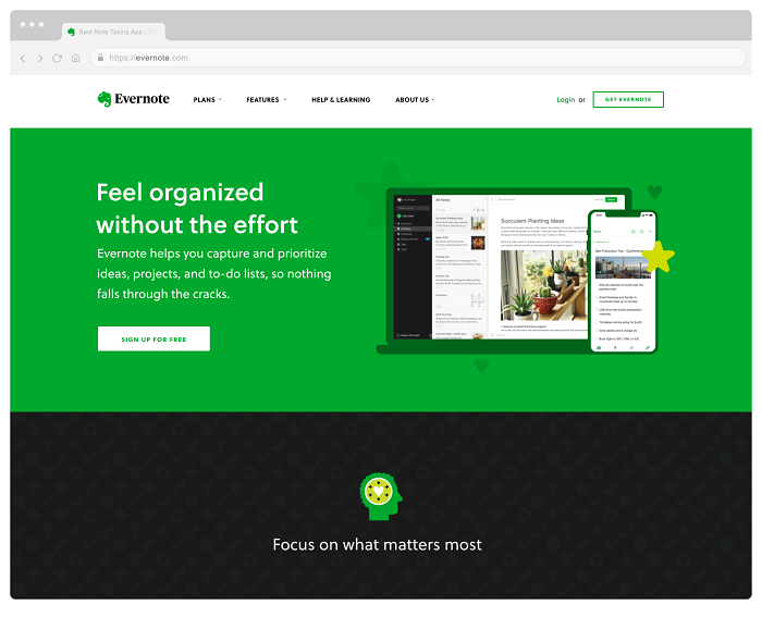 سایت Evernote