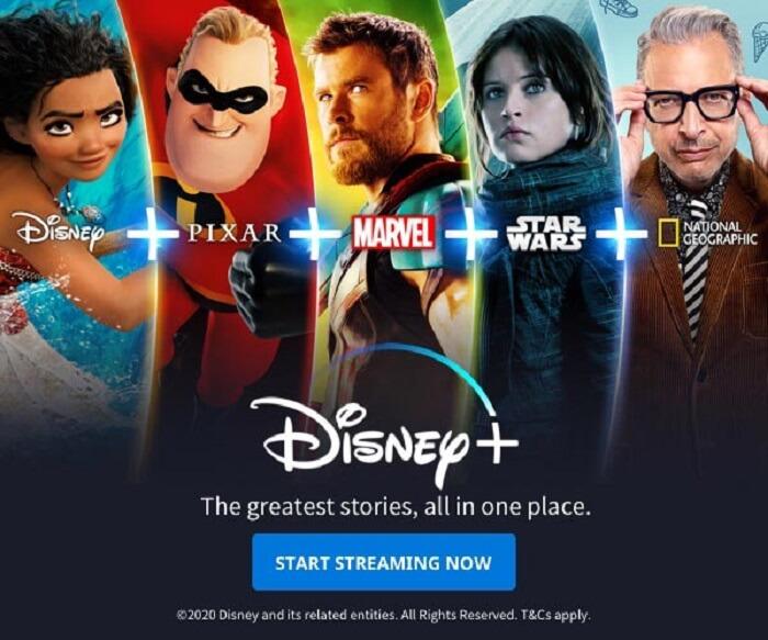 سایت The Walt Disney Company