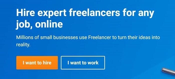 سایت فریلنسری freelancer