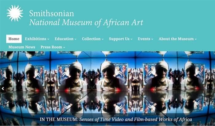 سایت Smithsonian National Museum of African Art