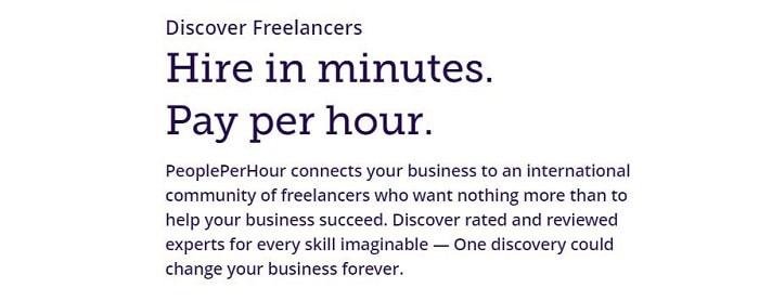 سایت فریلنسری people per hour