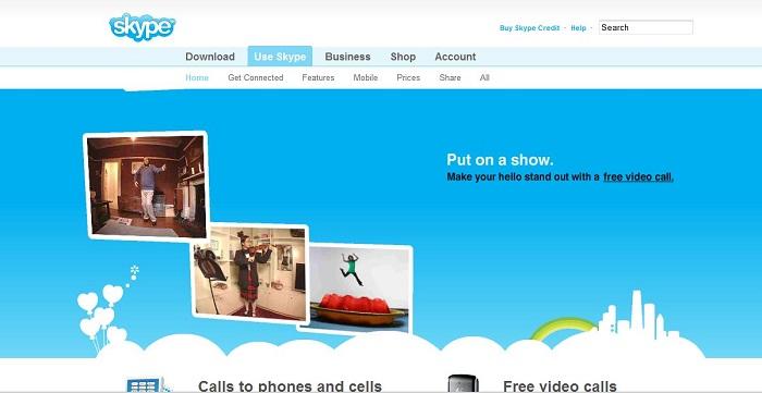 سایت Skype