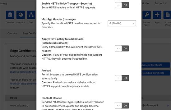 فعال کردن HTTPS در وبلاگ