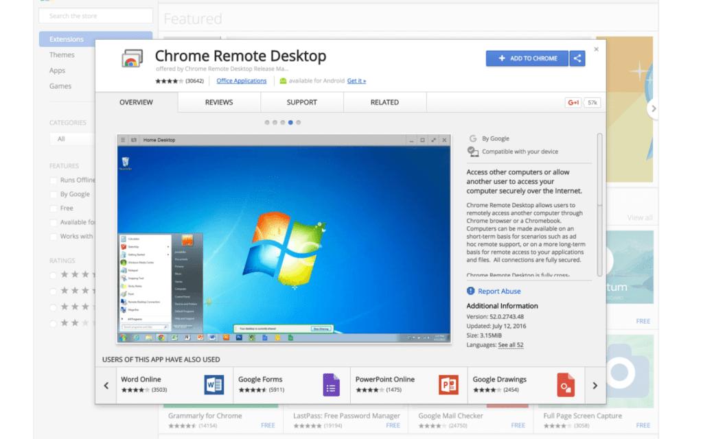 Chrome Remote Desktop جایگزین انی دسک
