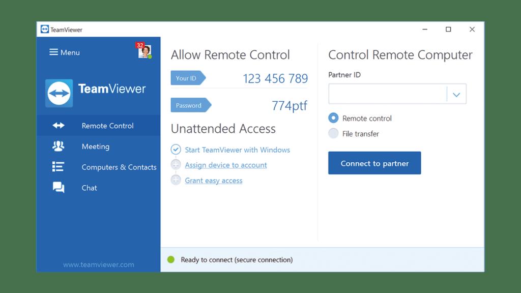 TeamViewer جایگزین انی دسک