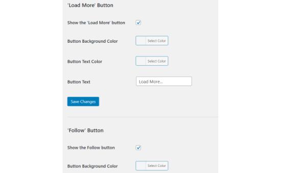 تنظیمات بیشتر قرار دادن اینستاگرام و فیسبوک در وب سایت وردپرس